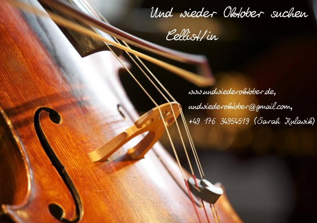 CellistIn gesucht!